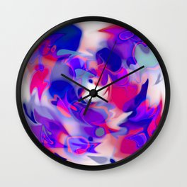 swirl of birds, abstract 1.2 Wall Clock