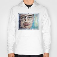 stephen king Hoodies featuring Stephen Hawking by Michael Cu Fua