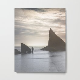 A Hike to the Unknown Metal Print