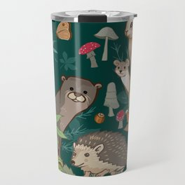 Animals In The Woods Travel Mug