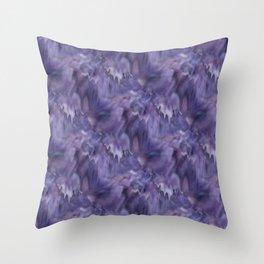Drifted Paint Throw Pillow