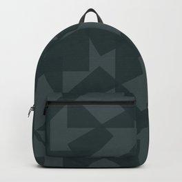 grey pattern // geometric Backpack