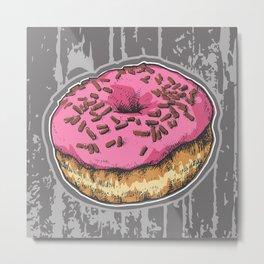 Doughnut Metal Print