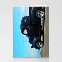 fargo Stationery Cards featuring Cruising the Waterfront in the old Fargo by DanByTheSea