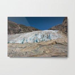 Glacier 1 Metal Print