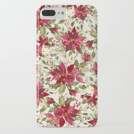 POINSETTIA - FLOWER OF THE HOLY NIGHT iPhone Case
