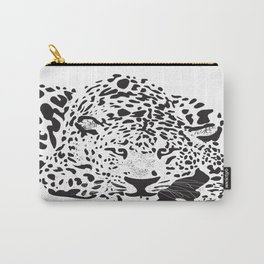 Colorblind Leopard Carry-All Pouch