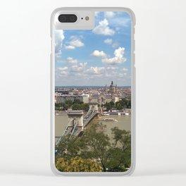 Budapest /Danube River/ Summer/ sunshine Clear iPhone Case