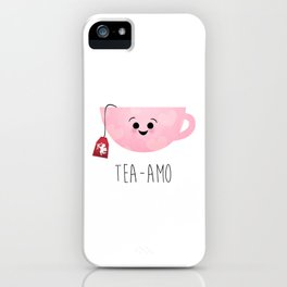 Tea-amo iPhone Case