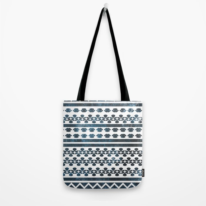 Ethnic pattern with watercolors Tote Bag