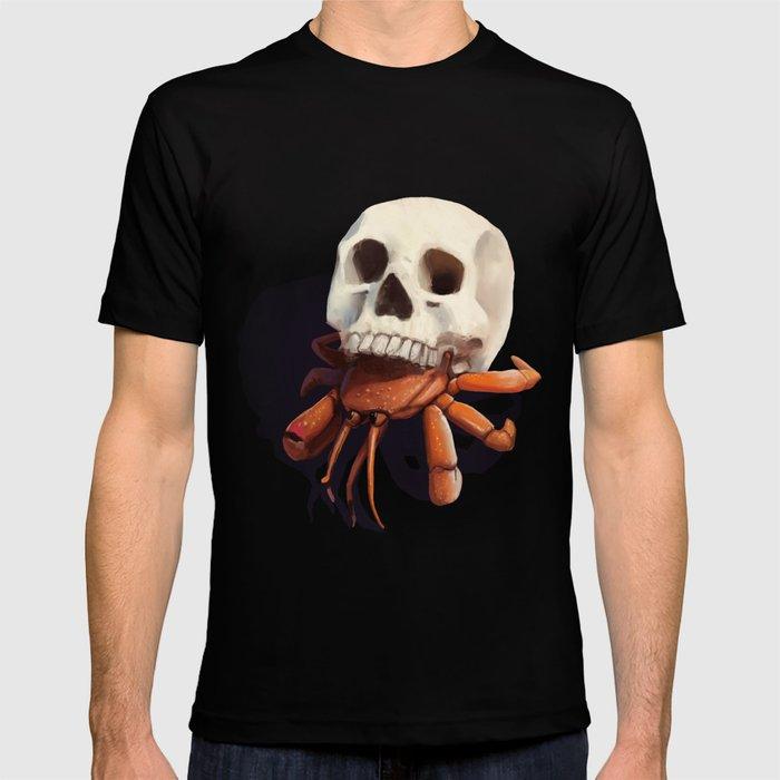 Skull Hermit Crab T-shirt