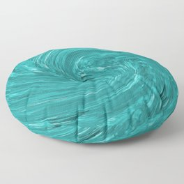 Watch the Swirling Water Go Down the Drain Floor Pillow