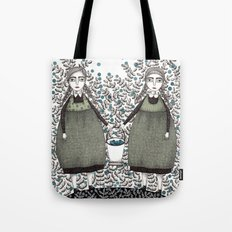 Blueberry Pickers Tote Bag