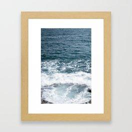 maltese ocean Framed Art Print