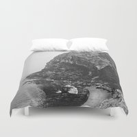 island Duvet Covers featuring Island by Laura O'Connor