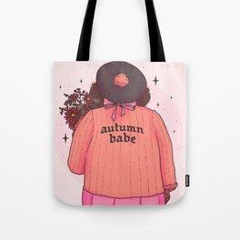 Autumn Babe Tote Bag
