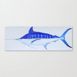 Pacific Blue Marlin Canvas Print