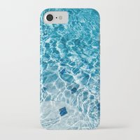 pool iPhone & iPod Cases featuring Pool by Britt Mansouri