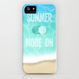 Summer Mode iPhone Case
