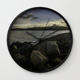 Dalkey Island.  Dublin Ireland Wall Clock