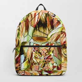 Crystal Yellow Sapphire Gem Stone Backpack