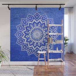 okshirahm, blue crystal Wall Mural