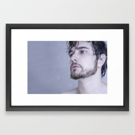 far behind Framed Art Print