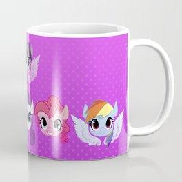 Mane Six Coffee Mug