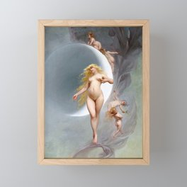 THE PLANET VENUS - LUIS RICARDO FALERO Framed Mini Art Print