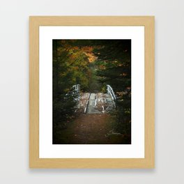 Forgotten Bridge Framed Art Print