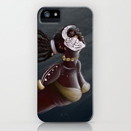 MOON GODDESS iPhone Case