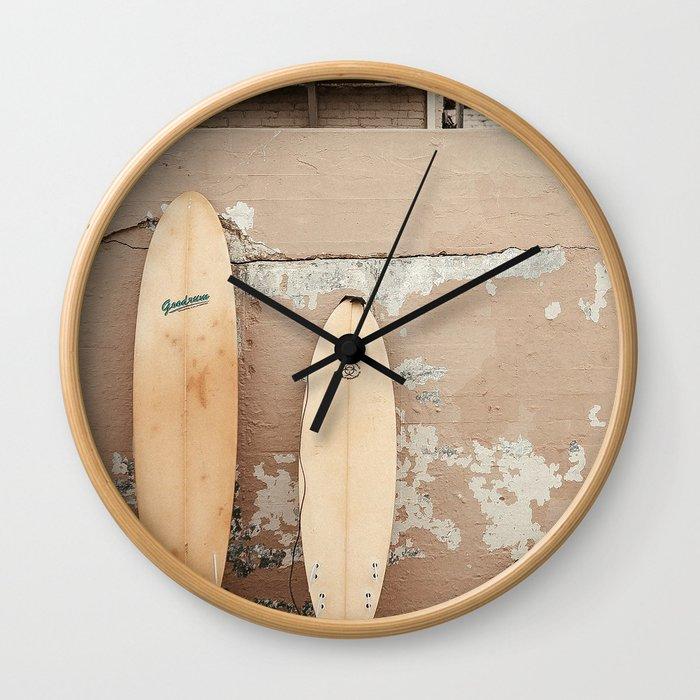 San Diego Surfing Wall Clock