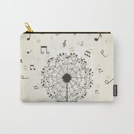 Music a dandelion Carry-All Pouch