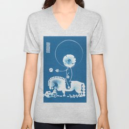 Welcome to Mongolia Unisex V-Neck