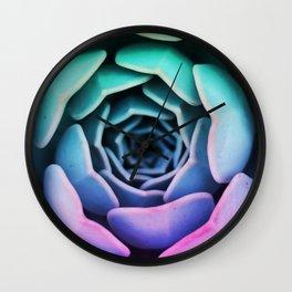 Beautiful Succulent Wall Clock