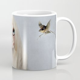 Erregiro Blythe Custom Doll, The White Horse Coffee Mug