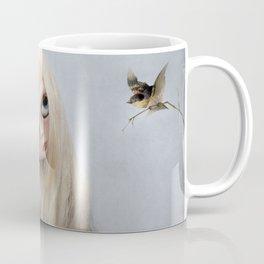 Erregiro Blythe Custom Doll, The White Horse Coffee Mug