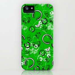 Gamers-Green iPhone Case