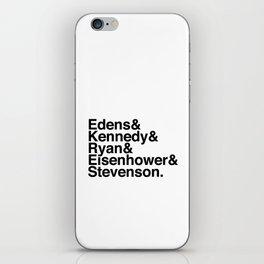 Helvetica Chicago Expressways iPhone Skin