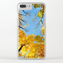 Fall Skies Clear iPhone Case