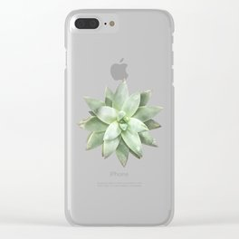Grow In Grace Clear iPhone Case