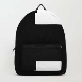 Black and White Color Block #2 Backpack