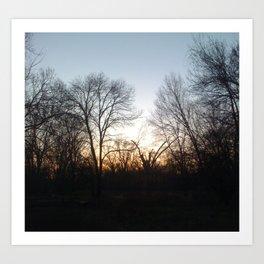 idyll woods.  Art Print