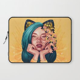 Puzzle Cat Girl Laptop Sleeve