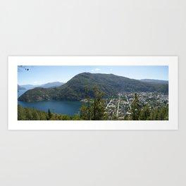 San Martin de los Andes, Argentina Art Print