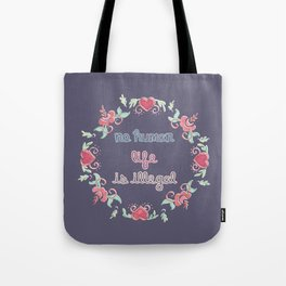 No Human Life Is Illegal Tote Bag