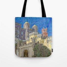 Palacio da Pena Tote Bag