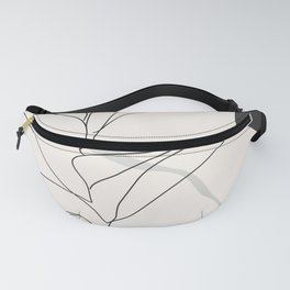 Abstract Art /Minimal Plant Fanny Pack