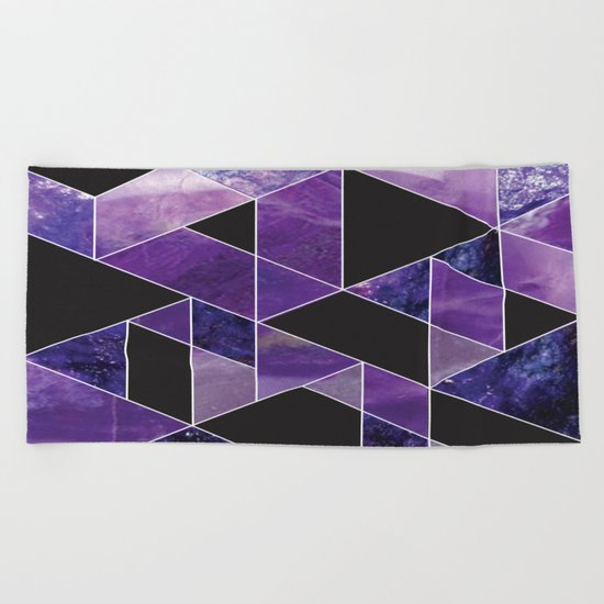 Sugilite Beach Towel