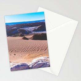 Valle de la Luna (Moon Valley) in San Pedro de Atacama, Chile Stationery Cards